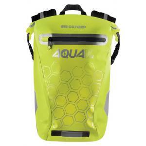 Vodotěsný batoh Oxford AQUA V12 fluo žlutý 12 l