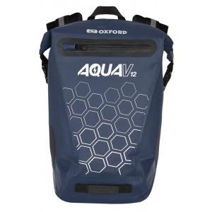 Vodotěsný batoh Oxford AQUA V12 tmavě modrý 12 l