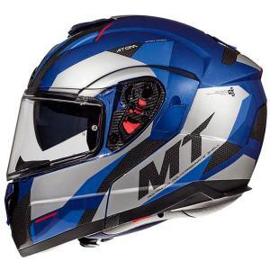 Vyklápěcí přilba na motorku MT Atom SV TRANSCEND E7 modrá