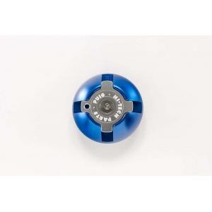 Zátka oleje PUIG 6158A modrá M30x1,5