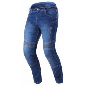 Zkrácené jeansy na motorku Street Racer Basic II CE modré