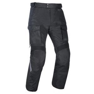 Zkrácené kalhoty na motorku Oxford Advanced Continental černé