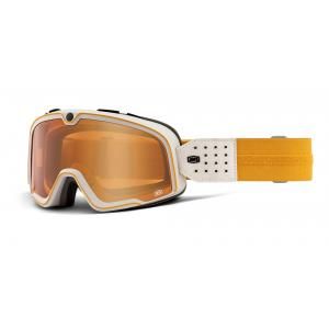 Brýle 100% BARSTOW Oceanside Persimmon oranžovo-bílé (oranžové plexi)