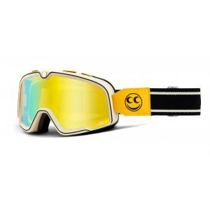 Brýle 100% BARSTOW See See žluto-černé (žluté zrcadlové plexi)