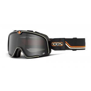 Brýle 100% BARSTOW Team Speed černo-oranžové (kouřové plexi)