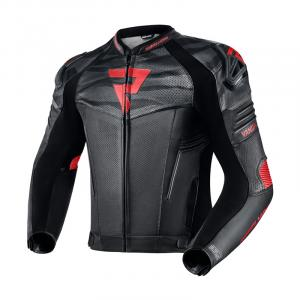 Bunda na motorku Rebelhorn Vandal černo-červená