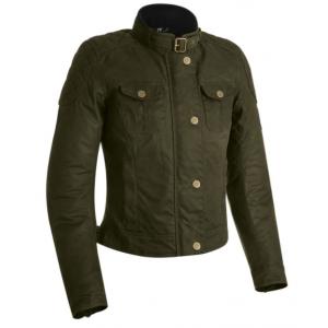 Dámská bunda na motorku Oxford Holwell zelená