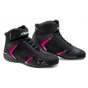 Dámské boty na motorku IXON Gambler WP černo-růžové