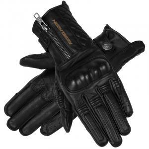 Dámské rukavice na motorku Rebelhorn Hunter černé
