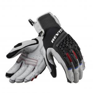 Dámské rukavice na motorku Revit Sand 4 černo-šedé