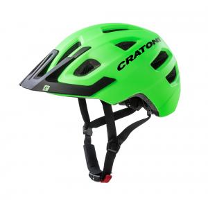 Dětská cyklo přilba CRATONI Maxster Pro zeleno-černá