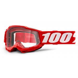 Dětské motokrosové brýle 100% ACCURI 2 oranžové (čiré plexi)
