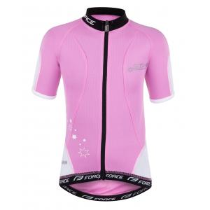 Dětský dres FORCE Star růžový