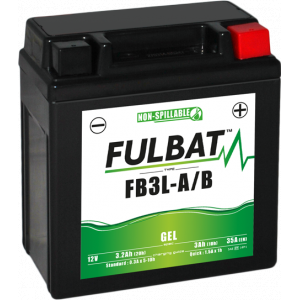 Gelová baterie FULBAT FB3L-A/B GEL (YB3L-A/B GEL)