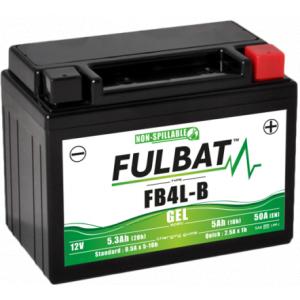 Gelová baterie FULBAT FB4L-B GEL (High Capacity) (YB4L-B GEL)