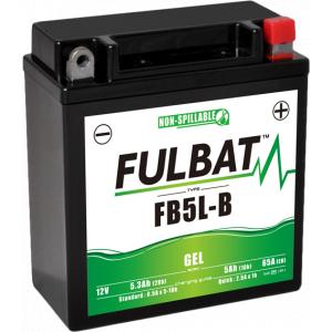 Gelová baterie FULBAT FB5L-B GEL (YB5L-B GEL)