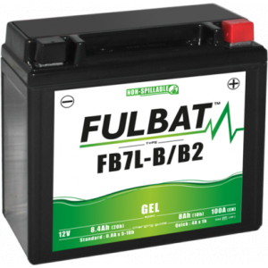 Gelová baterie FULBAT FB7L-B/B2 GEL (YB7L-B/B2 GEL)
