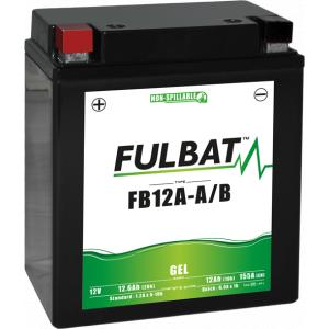 Gelová baterie FULBAT FB12A-A/B GEL (YB12A-A/B GEL)