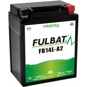 Gelová baterie FULBAT FB14L-A2 GEL (12N14-3A) (YB14L-A2 GEL)