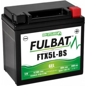 Gelová baterie FULBAT FTX5L-BS GEL (YTX5L-BS GEL)