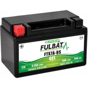 Gelová baterie FULBAT FTX7A-BS GEL (YTX7A-BS GEL)