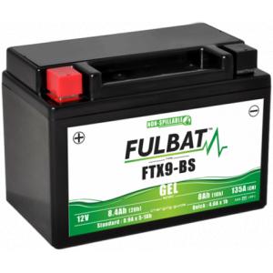 Gelová baterie FULBAT FTX9-BS GEL (YTX9-BS GEL)
