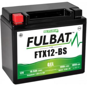 Gelová baterie FULBAT FTX12-BS GEL (YTX12-BS GEL)