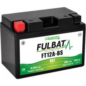 Gelová baterie FULBAT FT12A-BS GEL (YT12A-BS GEL)