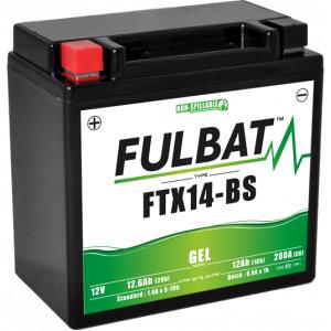 Gelová baterie FULBAT FTX14-BS GEL (YTX14-BS GEL)
