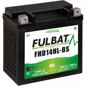 Gelová baterie FULBAT FHD14HL-BS GEL (Harley.D) (YHD14HL-BS GEL)