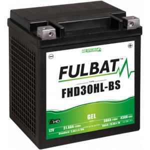 Gelová baterie FULBAT FHD30HL-BS GEL (Harley.D) (YHD30HL-BS GEL)