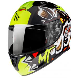 Integrální přilba na motorku MT Targo Crazy Dog černá