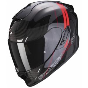 Integrální přilba Scorpion EXO-1400 Carbon Air Drik černo-červená