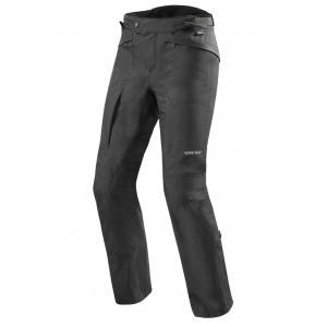Kalhoty na motorku Revit Globe GTX černé zkrácené