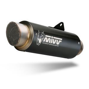 Koncovka výfuku MIVV GP PRO D.035.LXBP Černá ocel - II. jakost