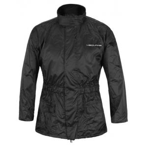 Moto bunda do deště 4SQUARE Raining černá