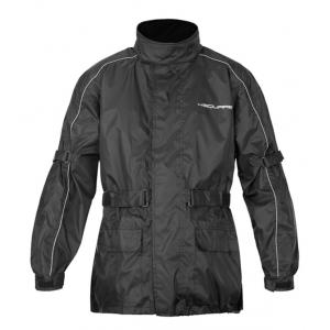 Moto bunda do deště SQUARE Cloud černá