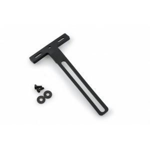 Nylon support to move homologated reflector PUIG 1553N černý