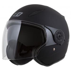 Otevřená přilba na motorku ZED C50 černá matná