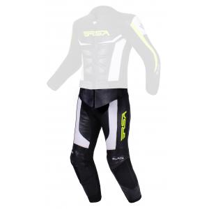 Pánské kalhoty RSA Blade černo-bílo-fluo žluté