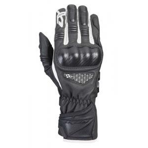 Pánské rukavice na motorku IXON RS Tango černo-bílé