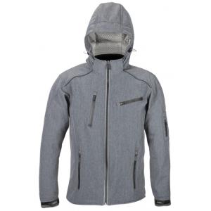 Softshellová bunda 4SQUARE Soft šedá výprodej