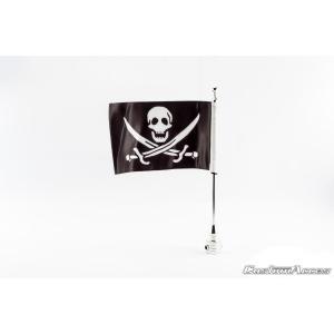 Vlajka CUSTOMACCES CALAVERA FLA001N l 39cm