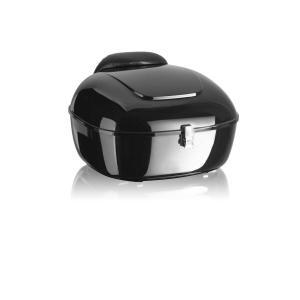 Vrchní kufr na motorku CUSTOMACCES BE GOOD MT0008N černý