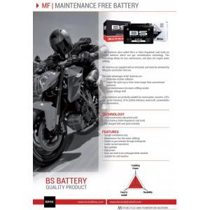 Bezúdržbová motocyklová baterie BS-BATTERY BT12B-BS (YT12B-BS)
