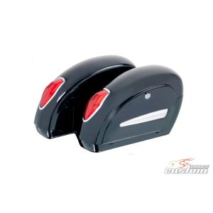Boční kufry CUSTOMACCES SMALL ARS004N černý pár