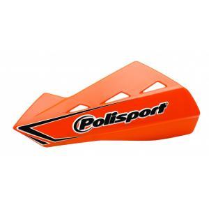 Chrániče páček POLISPORT QWEST vč. univerzální plastové montážní sady oranžová KTM