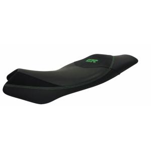 Komfortní sedlo SHAD SHK0E6107 černé, zelené švy