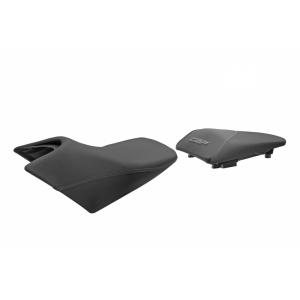 Komfortní sedlo SHAD SHH0C111CH vyhřívané černo/šedé, šedé švy (bez loga)