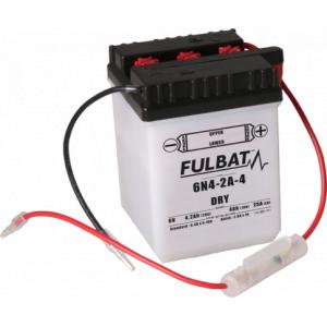 Konvenční motocyklová baterie FULBAT 6N4-2A-4 Včetně balení kyseliny